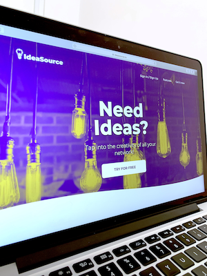 IdeaSource home-page.