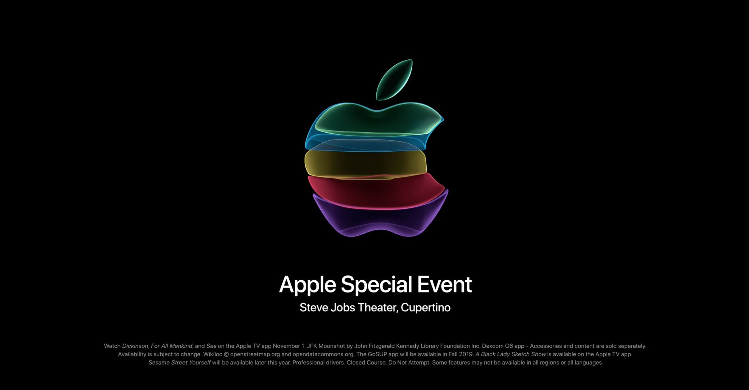 Apple Special Event 2019: What's new?