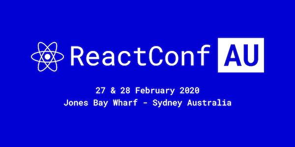 ReactConf AU