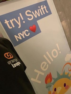 OrangeLoops at try! Swift NYC