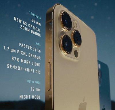 iPhone 12 Pro camera